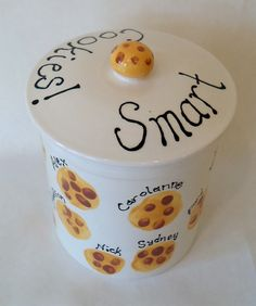 """Smart Cookies"" School Auction project - Customer Artwork 