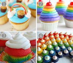Fara Party Design- Ideas Postres San Patricio- Cupcakes