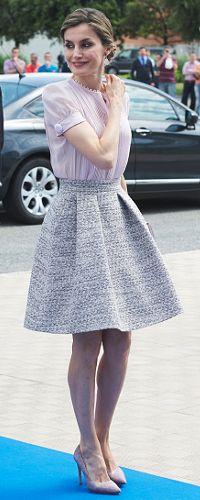 29 Jun 2016 - Queen Letizia visits Pamplona. Click to read more