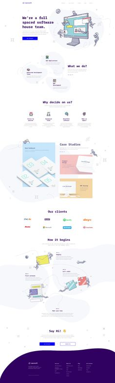 Software House, Say Hi, Case Study, My Works, Lps