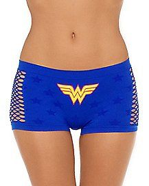 Wonder Woman Outfit, Superman Wonder Woman, Geek Chic, Hot Pants, Leggings Fashion, Lingerie, Girly Girl, Gym Shorts Womens, Underwear