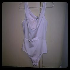 ACCEPTING OFFERS White body suit True to size. Tobi Other