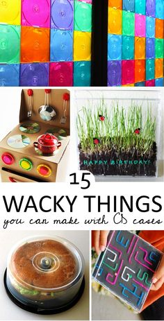 All the wacky things you can make from old CD cases (am I the only one with several of these *still* around the house)