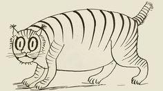 Foss the cat by Edwin Lear