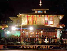 Cosmic Cafe on Oak Lawn Ave, Dallas. All-vegetarian Indian meals, great food and ambience.