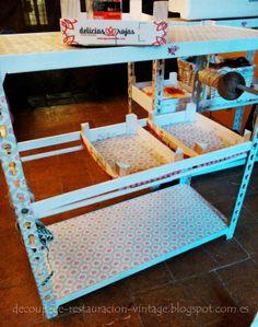 Decoupage, transfer y otras técnicas. Restauración de muebles. Tutoriales DIY y craft ideas.