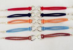 Goose down line bracelet golden infinity karma by eternalDIY, $1.99