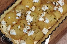 Das Rezept für diese wunderbare Kartoffeltarte findet Ihr auf meinem Blog www.ge-sagt.de Pancakes, Breakfast, Blog, Pie, Food Food, Cooking, Recipies, Morning Coffee, Pancake