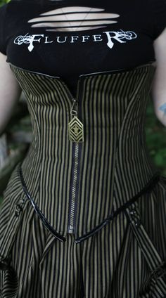 Maybe this would help suck in my baby gut.   ;)  Fluffer Designs Salutes 4 The Troops Corset and by fluffergirl, $195.00