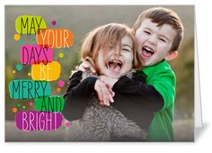 Be Bright Christmas Card