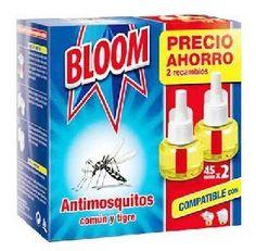 OFERTA!! Bloom recambio eléctrico 90 nochesPrecio en  eynmarket.com: 3,40€ Precio en tienda :6,99 €