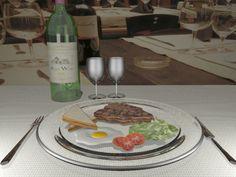 Set Food Render 2 Art 3d, Beef, Food, 3d Craft, Meal, Essen, Hoods, Ox, Meals