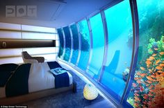 Dubai unveils hotel with rooms 10m under surface of the sea