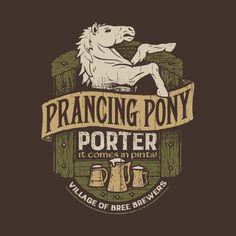 Prancing Pony Porter T-Shirt