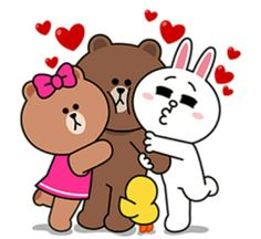 Choco, Brown et Cony
