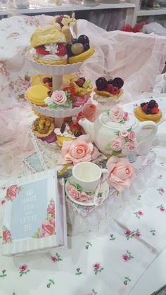 Tea for you-Sweete decoration_Tea party set-Msgardengrove1