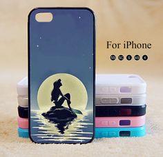 Little Mermaid,Disney,iPhone 5 case,iPhone 5C Case,iPhone 5S Case, Phone case,iPhone 4 Case, iPhone 4S Case,Case-IP002Cal