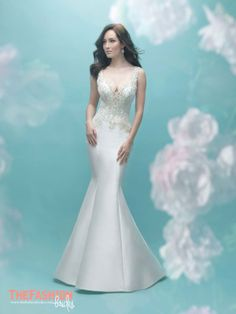 Sleek, chic and glamorous. Allure Bridals bridal gowns are both modern and classics, incorporating novelty fabrics and exquisite feminine details. The gowns are created for brides that have a refin…