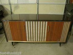 $399 Grundig KS 690 Mid Century 8 Speaker System Stereo Console | eBay