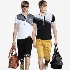 ONTTNO Geometric Color Block Polo Shirt http://www.sneakoutfitters.com/Designer-Brands/ONTTNO-Geometric-Color-Block-Polo-Shirt-p3884.html