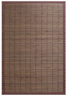 Villager Coffee Bamboo Rug - 6' x 9'. Bamboo rugs have been a traditional floor covering in the Far East for centuries. They add a touch of organic, practical elegance to any space. Our bamboo rugs are made of the finest quality, sustainably harvested bamboo in the world for supreme durability. Kiln-dried bamboo is machine-planed and sanded for a smooth finish.