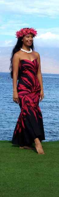 Hawaiian style - this is the ever beautiful Joey!