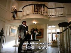 Love the Grayson House from Revenge... and that bump out on the upper level hallway is gorgeous!