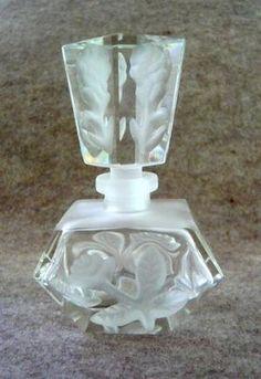 Antique Lalique Perfume Bottle by DenyMacMart