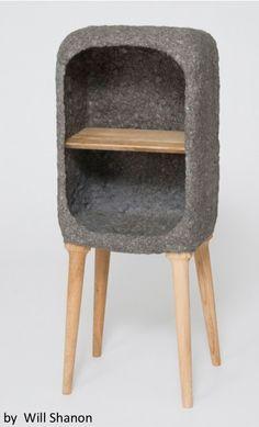 """cabinet concrete and wood  #concrete #beton #wood """"concrete"""""""