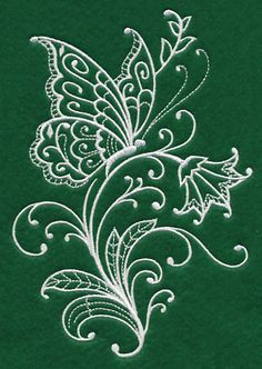 Grand Sewing Embroidery Designs At Home Ideas. Beauteous Finished Sewing Embroidery Designs At Home Ideas. Machine Embroidery Patterns, Hand Embroidery Designs, Embroidery Applique, Embroidery Stitches, Butterfly Embroidery, Learning To Embroider, Silk Ribbon Embroidery, Butterfly Design, Dot Painting