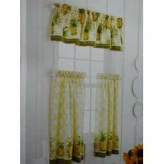 Pineapple Kitchen Curtains | Kitchen Tier U0026 Valance Pineapple 60x36 Kitchen