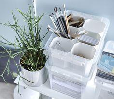 SmartStore storage box with inserts