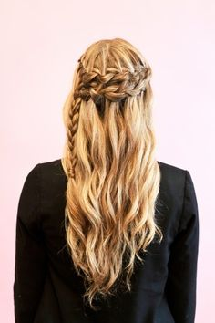 Double cascading braid tutorial