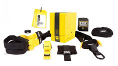 The TRX HOME suspension training kit combines fitness equipment and workouts so you can get fast and professional results at home.