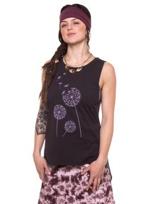 Wishful Thinking Split Back Organic Tank #SoulFlowerPintillSpring Re-Pin your fave outfits, accessories, and jewelry to enter to win a $100 gift card or one of two $25 gift cards! Contest ends 3/19.