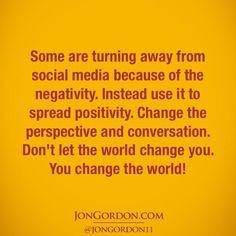 Jon Gordon on Epic Quotes, Quotable Quotes, Best Quotes, Qoutes, Inspirational Quotes, Positive Life, Positive Quotes, Jon Gordon, Energy Bus
