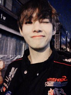"""BTS Tweet - V (selca) 150329 after the BTS Begin Concert [tran Thank you so much for coming to see us yesterday as well as today and thank you and I love you so so so much for staying by our side"""" cr: ARMYBASESUBS · @BTS_ABS"""