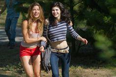 "Tania Raymonde as Nikki and Alexandra Daddario as Heather in ""Texas Chainsaw 3D"""
