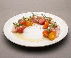 Hopgood's Foodline: Albacore Tuna & Vicki's Veggies Heirloom Tomatoes
