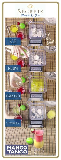Today we're helping you bring a little piece of your Secrets Resorts & Spas vacation home with you by sharing the recipe for one of our favorite cocktails: the Mango Tango!