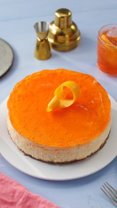 We've taken your favourite Summer drink and turned it into an epic cheesecake. Who's for a slice of Aperol? We've taken your favourite Summer drink and turned it into an epic cheesecake. Who's for a slice of Aperol? Cheesecake Recipes, Dessert Recipes, Buckwheat Cake, Iftar, Summer Drinks, Summer Food, Summer Travel, Cake Tins, Savoury Cake