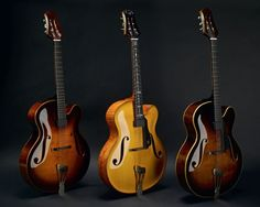 Clases de Guitarra:   Pablo Bartolomeo: Guitarras The Vienna Archtop Jazz