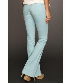 James Jeans Juliette Slim Leg Trumpet Flare in Lagoon