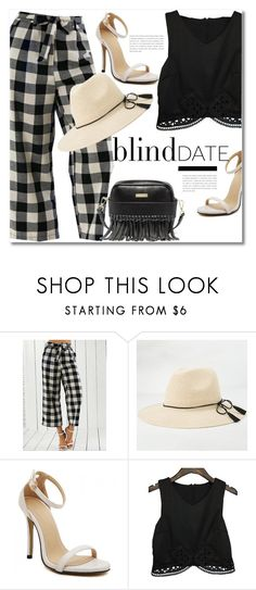 """Blind date"" by svijetlana ❤ liked on Polyvore featuring plaid, polyvoreeditorial and blinddate"