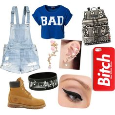 Now by madalinacorina on Polyvore featuring polyvore fashion style ONLY H&M Timberland UNIONBAY LORAC