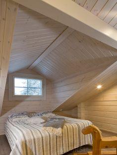 Спальня. Модель двухэтажного дома H2-115 #Ikihirsi #деревянныйдом ikihirsirussia.ru