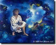 Jesus Missing Years, Fine Art Canvas