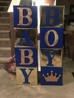 New baby shower ideas for boys decorations prince royal blue ideas - Babydusche Baby Shower Azul, Royal Baby Shower Theme, Royalty Baby Shower, Baby Shower Oso, Regalo Baby Shower, Idee Baby Shower, Fiesta Baby Shower, Baby Shower Invitaciones, Boy Baby Shower Themes