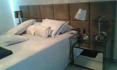 A cabeceira pode ser o atrativo principal da decoração do seu quarto!! Fica um charme!!