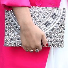 omg. need this beaded clutch now
